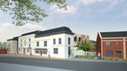 Visualisation of how Highbridge Hotel will look when finished