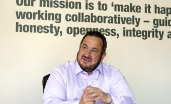 New managing director and new outlook